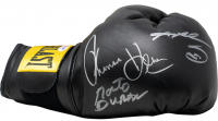 "Roberto Duran, Thomas ""Hitman"" Hearns, & Sugar Ray Leonard Signed Everlast Boxing Glove (PSA COA) at PristineAuction.com"