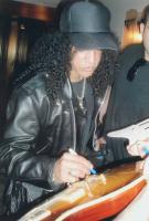 Slash Signed Acoustic Guitar (Beckett Hologram) at PristineAuction.com