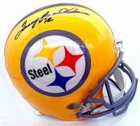Terry Bradshaw Signed Steelers Full-Size Throwback Helmet (Beckett COA & Bradshaw Hologram) at PristineAuction.com