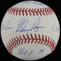 Nolan Ryan Signed OML Baseball With Multiple Inscriptions (AIV COA & Ryan Hologram) at PristineAuction.com