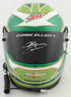 Chase Elliott Signed NASCAR Mountain Dew Full-Size Helmet (Elliott COA & PA COA) (See Description) at PristineAuction.com