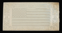 20 Grams .999 Fine Pure Silver American Flag Bullion Bar at PristineAuction.com