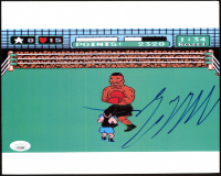 """Mike Tyson Signed """"Punch-Out!!"""" 8x10 Photo (JSA COA) at PristineAuction.com"""