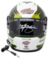 Kyle Busch Signed NASCAR Interstate Batteries Full-Size Helmet (PA Hologram & Beckett COA) at PristineAuction.com