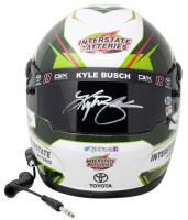 Kyle Busch Signed NASCAR Interstate Batteries Full-Size Helmet (PA Hologram & Beckett COA) at PristineAuction.com