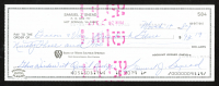 Sam Snead Signed 1984 Personal Bank Check (SOP COA) at PristineAuction.com