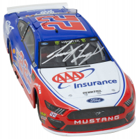 Joey Logano Signed NASCAR #22 AAA - 1:24 Premium Action Diecast Car (PA Hologram & Beckett COA) at PristineAuction.com