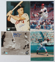Lot of (4) Baseball Hall of Famers Signed 8x10s With Gaylord Perry, Monte Irvin, Fergie Jenkins, & Bobby Doerr (SOP COA) at PristineAuction.com