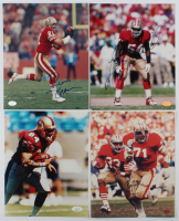 Lot of (4) 49ers Signed 8x10s With Roger Craig, Brent Jones, Lee Woodall, & Russ Francis (JSA COA & SOP COA) at PristineAuction.com