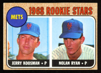 Jerry Koosman RC / Nolan Ryan RC 1968 Topps #177 Rookie Stars at PristineAuction.com