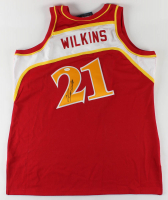 Dominique Wilkins Signed Hawks Jersey (JSA COA) at PristineAuction.com