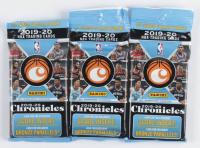 Lot of (3) 2019/20 Panini Chronicles Basketball Jumbo Fat Packs at PristineAuction.com