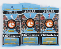 Lot of (3) 2019/20 Panini Chronicles Basketball Jumbo Fat Packs at PristineAuction.com