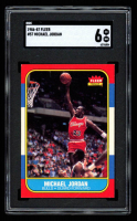 Michael Jordan 1986-87 Fleer #57 RC (SGC 6) at PristineAuction.com