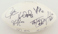 NFL Football 2008 Chargers Signed by (8) with LaDainian Tomlinson, Antonio Gates, Philip Rivers with Inscriptions (PSA LOA) at PristineAuction.com