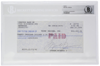 Michael Jordan Signed 1998 Personal Bank Check (Beckett Encapsulated) at PristineAuction.com