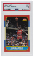 Michael Jordan 1986-87 Fleer #57 RC (PSA 7) at PristineAuction.com