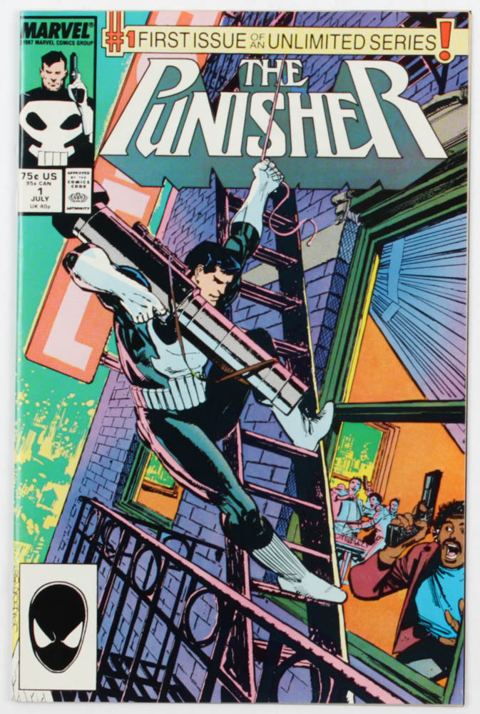 "1987 ""The Punisher"" Issue #1 Marvel Comic Book at PristineAuction.com"