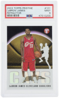 LeBron James 2003-04 Topps Pristine Refractors #101 (PSA 9) at PristineAuction.com