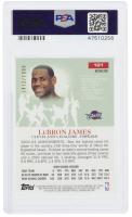 LeBron James 2003-04 Topps Pristine Refractors #101 (PSA 9) at PristineAuction.com