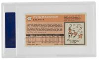 Pete Maravich 1970-71 Topps #123 RC (PSA 7) at PristineAuction.com