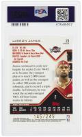 LeBron James 2004-05 Finest Refractors #23 #145/249 (PSA 10) at PristineAuction.com