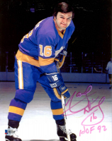 """Marcel Dionne Signed Kings 8x10 Photo Inscribed """"HOF 92"""" (Beckett COA) at PristineAuction.com"""