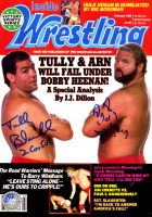 Arn Anderson & Tully Blanchard Signed WWE 8x10 Photo with Inscriptions (Pro Player Hologram) at PristineAuction.com