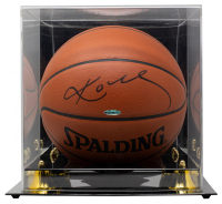 Kobe Bryant Signed Official NBA Game Ball Basketball (Beckett LOA & UDA Hologram) at PristineAuction.com