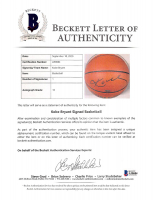 Kobe Bryant Signed Official NBA Game Ball Basketball (Beckett LOA & UDA Hologram) at PristineAuction.com