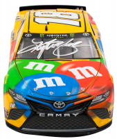 Kyle Busch Signed LE #18 M&M's Brand 2019 Camry 1:24 Scale Die Cast Car (PA Hologram) at PristineAuction.com