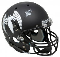 "Stan Lee Signed Matte Black ""Venom"" Full-Size Helmet (Lee Hologram & Beckett LOA) at PristineAuction.com"