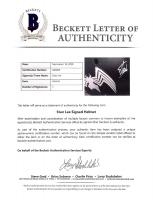 """Stan Lee Signed Matte Black """"Venom"""" Full-Size Helmet (Lee Hologram & Beckett LOA) at PristineAuction.com"""