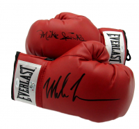 Mike Tyson & Mike Spinks Signed Pair of Everlast Boxing Gloves (JSA COA & Fiterman Sports Hologram ) at PristineAuction.com