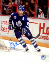 Doug Gilmour Signed Maple Leafs 8x10 Photo (Pro Player Hologram) at PristineAuction.com