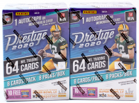 Lot of (2) 2020 Panini Prestige Football Blaster Box with (8) Packs at PristineAuction.com