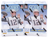 Lot of (2) 2020 Panini Score Football Blaster 11-Pack Box of (132) Cards at PristineAuction.com