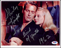 """Shirley Knight Signed """"Sweet Bird of Youth"""" 8x10 Photo Inscribed """"Sweet Bird of Youth"""" & """"1962"""" (PSA COA) at PristineAuction.com"""