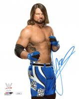 A.J. Styles Signed WWE 8x10 Photo (JSA COA) at PristineAuction.com