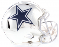 "Troy Aikman, Emmitt Smith, & Michael Irvin ""The Triplets"" Signed Cowboys Full-Size Chrome Speed Helmet (Beckett COA & Prova Hologram) at PristineAuction.com"
