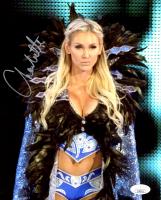 Charlotte Flair Signed WWE 8x10 Photo (JSA COA) at PristineAuction.com