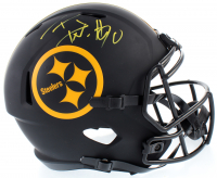 T.J. Watt Signed Steelers Full-Size Eclipse Alternate Speed Helmet (JSA COA) at PristineAuction.com