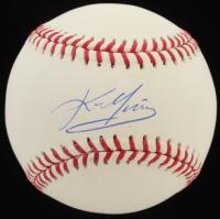 Kevin Youkilis Signed OML Baseball (Steiner COA & MLB Hologram) at PristineAuction.com