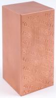 "10 Pounds .999 Fine Copper ""Periodic Table"" Bullion Bar at PristineAuction.com"