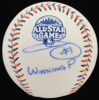 "Chris Sale Signed 2013 All-Star Game Baseball Inscribed ""Winning P"" (PSA COA) at PristineAuction.com"