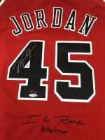 "Michael Jordan Signed LE Bulls ""I'm Back"" Jersey #23/145 (UDA COA) at PristineAuction.com"