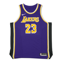 LeBron James Signed Lakers Jersey (UDA COA) at PristineAuction.com