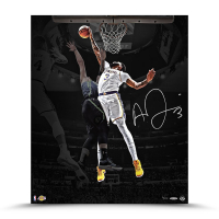 "Anthony Davis Signed LE Lakers ""Rejection"" 20x24 Photo (UDA COA) at PristineAuction.com"