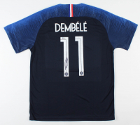 Ousmane Dembele Signed Team France Jersey (Beckett COA) at PristineAuction.com