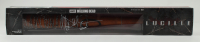"""Jeffrey Dean Morgan Signed """"The Walking Dead"""" Lucille Barbed Wire Baseball Bat Packaging (Radtke COA) at PristineAuction.com"""